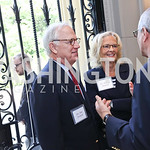 Drs. Jim and Kathy French. Photo by Tony Powell. Brunch in honor of Thomas LeBlanc. Arsht Residence. September 10, 2017