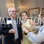 Houda Farouki, Thomas LeBlanc, Adrienne Arsht, Samia Farouki. Photo by Tony Powell. Brunch in honor of Thomas LeBlanc. Arsht Residence. September 10, 2017