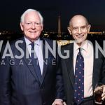 Rusty Powell, Bill Nitze. Photo by Tony Powell. Buffy Cafritz Inauguration Party. Hay Adams. October 25, 2017