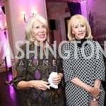 "Winton Holladay, Sandy Langdon. Photo by Tony Powell. ""Sisters First"" Book Party. Jefferson Hotel. October 26, 2017"