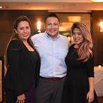 Karen Sanjines, Son Hong, Nena Patrone. December 5, 2017. Holiday Shopping Experience at Fairfax Square.  Amanda Warden.