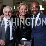 Charles Azarpour, Andrea Rinaldi, Brandon Clay. Photo by Tony Powell. Inaugural Halcyon Awards. Union Station. May 20, 2017