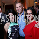 Tracy and Adam Bernstein, Rebecca Fishman. Photo by Tony Powell. Inaugural Halcyon Awards. Union Station. May 20, 2017