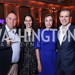 Jose Andres, Kristin Rechberger, Monaco Amb. Maguy Maccario Doyle, Enric Sala. Photo by Tony Powell. Inaugural Halcyon Awards. Union Station. May 20, 2017