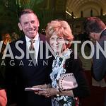 Steven Smith, Bitsey Folger. Photo by Tony Powell. Inaugural Halcyon Awards. Union Station. May 20, 2017