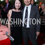 Sachiko Kuno and  Japan Amb. Kenichiro Sasae. Photo by Tony Powell. Inaugural Halcyon Awards. Union Station. May 20, 2017