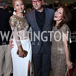 Anchyi Wei and Michael Clements, Shigeko Bork. Photo by Tony Powell. Inaugural Halcyon Awards. Union Station. May 20, 2017
