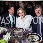 Nelson Ortiz, Hilda Ochoa Brillembourg, Frank Saul. Photo by Tony Powell. Inaugural Halcyon Awards. Union Station. May 20, 2017