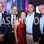 Rep. John Delaney, Jerry Greenfield, Sachiko Kuno, Jose Andres, Ben Cohen. Photo by Tony Powell. Inaugural Halcyon Awards. Union Station. May 20, 2017