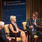 Institute of Politics discussion with Mika and Joe