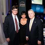 Shawn Smeallie, Janice Smeallie, Hiram C Polk Jr. Photo by Joy Asico. Longines Ladies Award 2017. Ronald Reagan Building. May 19, 2017