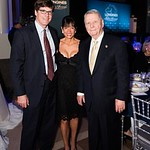 Shawn Smeallie, Janice Smeallie, Hiram C. Polk Jr. Photo by Joy Asico. Longines Ladies Award 2017. Ronald Reagan Building. May 19, 2017