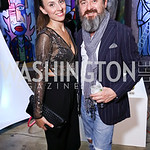 Tatiana Pastukhova, Sandro Keresa. Photo by Tony Powell. 2017 Phillips Collection Gala After Party. Union Market. May 19, 2017