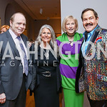 Bill Detty, Barbara Hawthorn, Lola Reinsch, Jose Alberto Ucles. Photo by Tony Powell. Phillips Collection Toulouse-Lautrec Opening. January 31, 2017