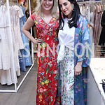 Erica Moody, Catherine Trifiletti. Photo by Tony Powell. Tadashi Shoji Washington Life Event. March 30, 2017