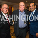 Mickey Ibarra, Bobby Watson, Antonio Villaraigosa. Photo by Alfredo Flores. Tribute to Mayors Inaugural Unity Dinner. Hyatt Regency Capitol Hill. January 18, 2017