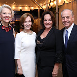 Kim Sajet, Donna McLarty, Grace Bender, Mack McLarty. Photo by Tony Powell. 2018 Cafritz Welcome Back from Summer. September 8, 2018