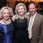Jill Udall, Jane Cafritz, Sen. Tom Udall. Photo by Tony Powell. 2018 Cafritz Welcome Back from Summer. September 8, 2018