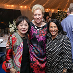 Rep. Doris Matsui, Dorothy McSweeny, Gail West. Photo by Tony Powell. 2018 Cafritz Welcome Back from Summer. September 8, 2018