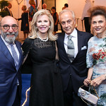 Dani Levinas, Jane Cafritz, Maximo and Sedi Flugelman. Photo by Tony Powell. 2018 Cafritz Welcome Back from Summer. September 8, 2018