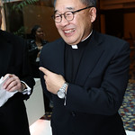 Father Paul Lee. Photo by Tony Powell. 2018 Catholic Charities Gala. Marriott Marquis. April 7, 2018