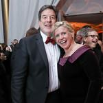 Scott Foreman and Leslie Sandoz. Photo by Tony Powell. 2018 Choral Arts Gala. Kennedy Center. December 17, 2018
