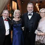 Scott Tucker, Lena Schuwer and Netherlands Amb. Henne Schuwer, Finland Amb. Kirsti Kauppi. Photo by Tony Powell. 2018 Choral Arts Gala. Kennedy Center. December 17, 2018