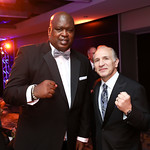 "Boxing Legends Buster Douglas and Ray ""Boom Boom"" Mancini. Photo by Tony Powell. 2018 Fight Night. Washington Hilton. November 1, 2018"