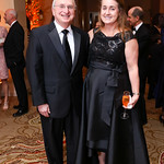 Dr. Roger Packer, Jenny Cullen. Photo by Tony Powell. 2018 Heroes Gala. Mandarin Oriental. March 3, 2018