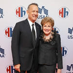 Tom Hanks, Elizabeth Dole, Elizabeth Dole. Photo by Tony Powell. 2018 Heroes and History Makers. Washington Hilton. November 29, 2018
