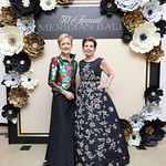 Ann Stock, Adrienne Arsht. Photo by Tony Powell. 2018 Meridian Ball. October 12, 2018