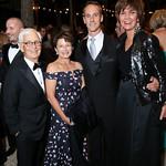 Lee Verstandig, Toni Verstandig, Rob Marshall, Capricia Marshall. Photo by Tony Powell. 2018 Meridian Ball. October 12, 2018