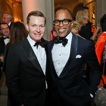 Nick Schmit and Jonathan Capehart. Photo by Tony Powell. 2018 Meridian Ball. October 12, 2018