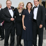 Robert Devaney, Chris Warnke, Marie Royce, David Short. Photo by Tony Powell. 2018 NSO Gala. Kennedy Center. September 22, 2018