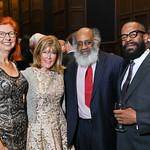 Author Mary Kay, Ginny Grenham, David Bradley, Author HG Carrilo. Photo by Tony Powell. 2018 PENFaulkner Gala. Folger Library. September 24, 2018
