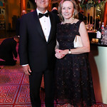 Chief Justice John Roberts and Jane Sullivan Roberts. Photo by Tony Powell. 2018 Shakespeare Theatre Co. Gala. Building Museum. October 14, 2018