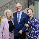 Susan Blumenthal, Kevin Chaffee, Ann Stock. Photo by Tony Powell. WL September Issue Party. Residence of France
