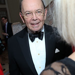 Sec. Wilbur Ross. Photo by Tony Powell. WL September Issue Party. Residence of France