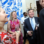 Susan Tolson and Amb. Charles Rivkin. Photo by Tony Powell. WL September Issue Party. Residence of France