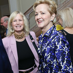 Susan Blumenthal, Ann Stock. Photo by Tony Powell. WL September Issue Party. Residence of France