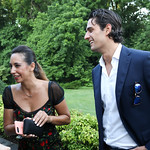 Ariela Di Marco, Pietro Brembila. Photo by Tony Powell. 2018 Welcome Summer Party. Villa Firenze. June 19, 2018