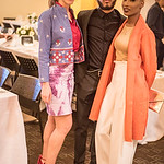 "Emilia Gore, Keyno Clark, Melanie ""Kleo"" Plumber,  First Annual All Our Kids Awards Dinner, AOK, at Sixth & I, February 15, 2018, photo by Ben Droz."