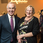 David Brooks, Sara Pratt, First Annual All Our Kids Awards Dinner, AOK, at Sixth & I, February 15, 2018, photo by Ben Droz.