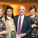 Sara Pratt, Kesari, David Brooks, Anne Snyder, Nicole Alexiev, First Annual All Our Kids Awards Dinner, AOK, at Sixth & I, February 15, 2018, photo by Ben Droz.
