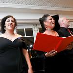 Fairouz Foty, Anamer Castrello, Peter Joshua Burroughs. Photo by Tony Powell. 2018 Arts for the Aging Gala. Hay Adams. October 15, 2018