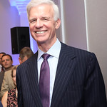 "Fred Ryan. Photo by Tony Powell. Beschloss ""Presidents of War"" Book Party. Decatur House. October 3, 2018"