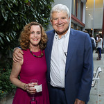 "Margie and PG Gottfried. Photo by Tony Powell. Bob Woodward ""Fear"" Book Party. Brown Residence. October 3, 2018"
