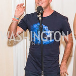 Steve Hilton, Photo by Alfredo Flores. Book Party for Steve Hilton. Juleanna Glover's residence. October 10, 2018
