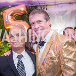 Krishnan Kalyanasundaram, Scott Stewart, Capitol Seniors Housing, 15th Anniversary Party.  November 8, 2018. Photo by Ben Droz.
