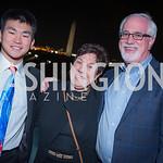 Ryan Stewart, Lynne Stewart, Bill Stewart, Capitol Seniors Housing, 15th Anniversary Party.  November 8, 2018. Photo by Ben Droz.